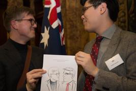 Live Portraits for CPN Australia