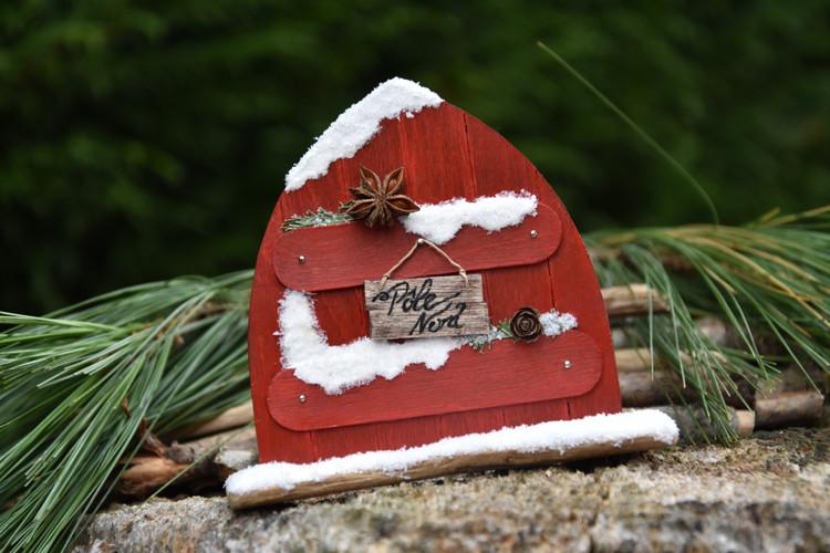 Porte de Lutin de Noël