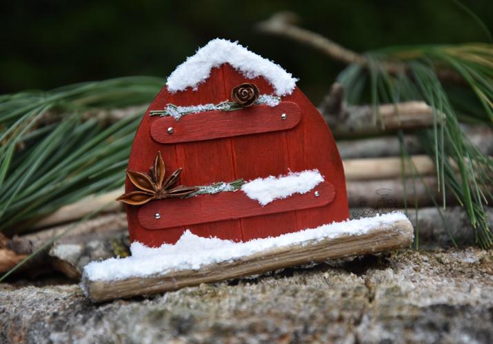 Porte d'Apprenti Lutin de Noël