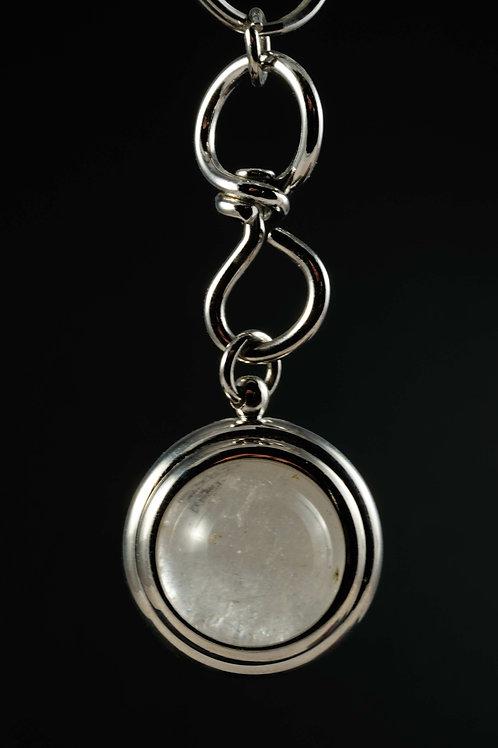 Porte clés cristal de roche