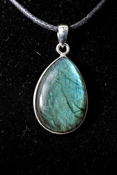 Pendentif pierre - pendentif Labradorite