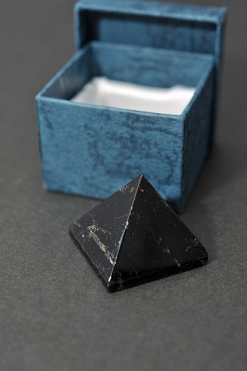 Pyramide Tourmaline  -  pyramide pierre