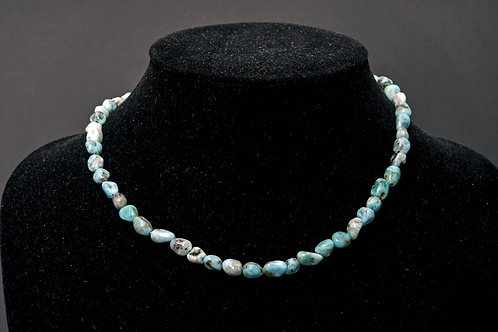 Collier pierre - Collier Larimar