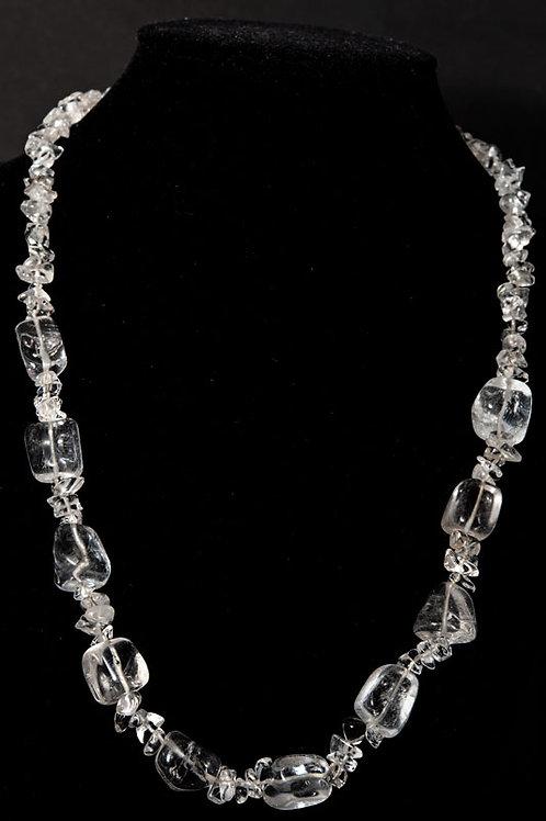 Collier pierre - Collier Cristal de roche