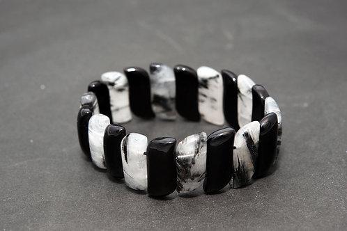 Bracelet Quartz fumé Quartz noir