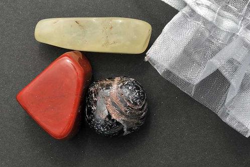 Pochette pierres de la santé