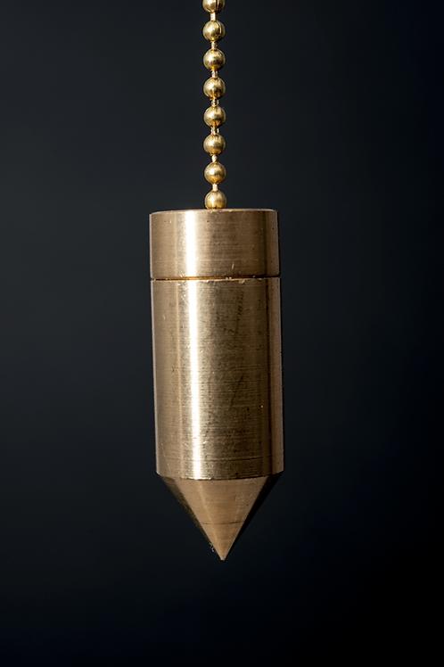 Pendule cylindre en laiton