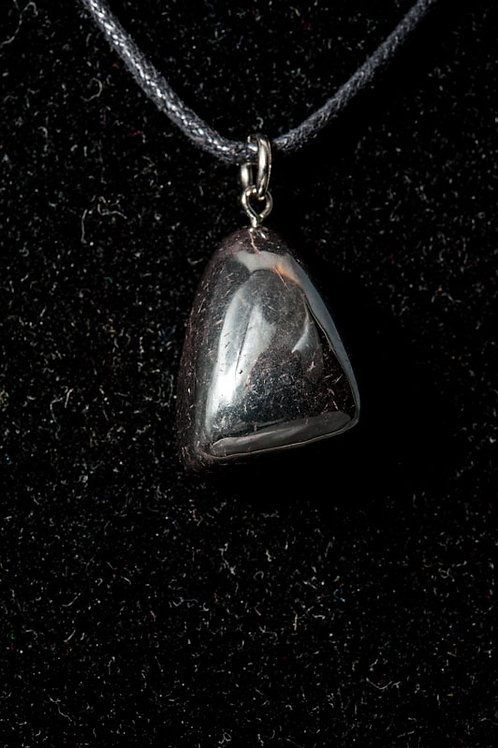 Pendentif pierre - pendentif Hématite