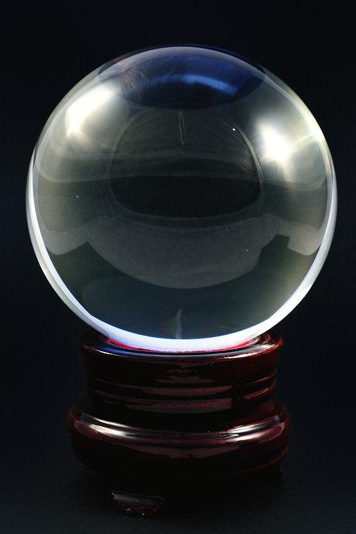 Boule de cristal grand modèle