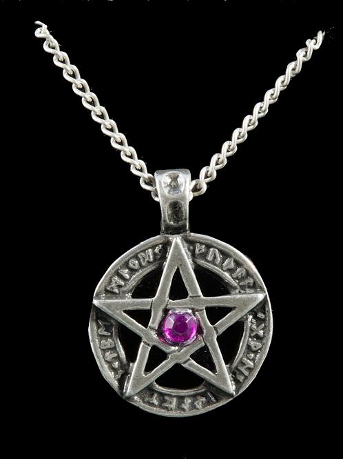 Pendentif Pentagramme runique