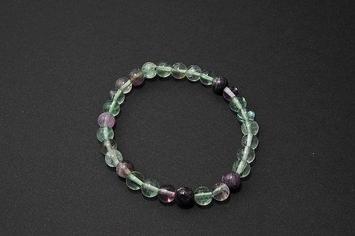 Bracelet fluorite fluorine