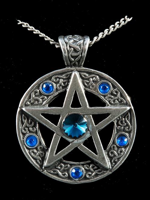Pendentif Pentagramme celtique