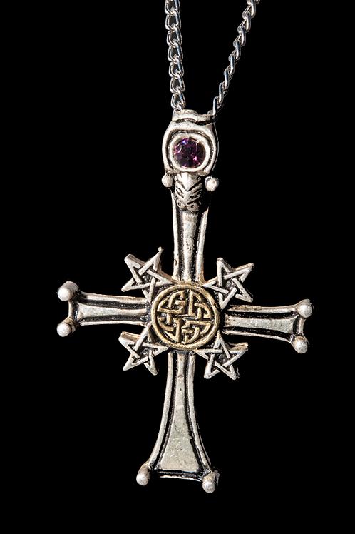 Croix pentacle celte