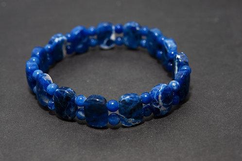 Bracelet pierre - Bracelet Lapis lazuli