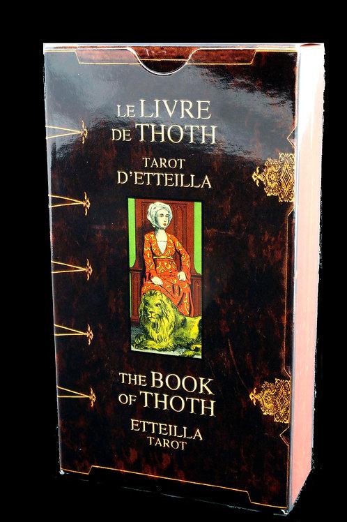 Tarot Etteilla    Livre de Thoth