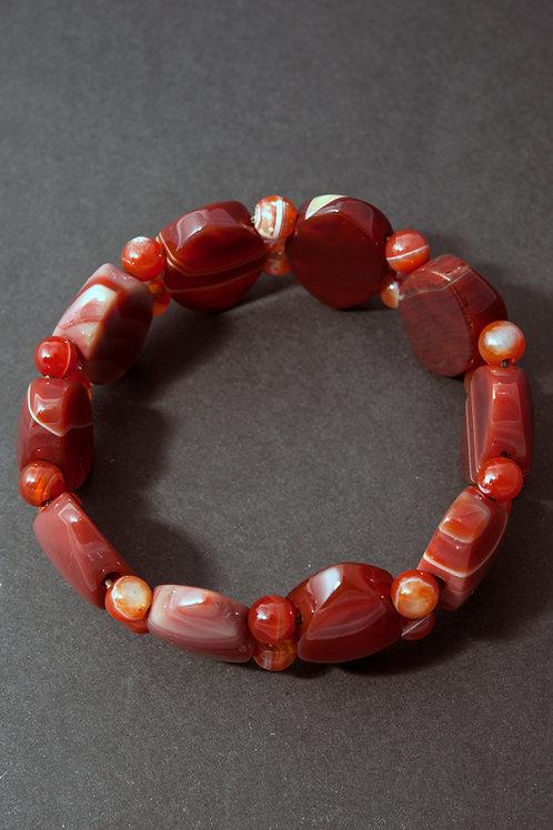 Bracelet pierre - Bracelet Agate