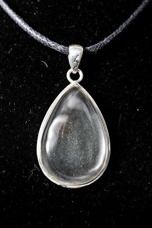 Pendentif pierre - pendentif cristal de roche