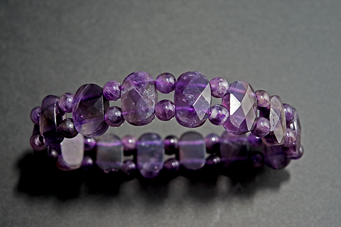 Bracelet pierre - bracelet Améthyste