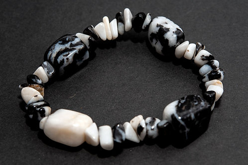 Bracelet Jade zebre