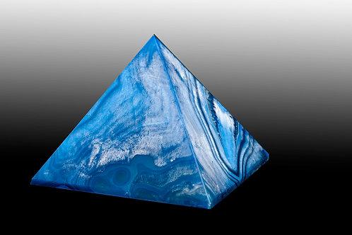 Pyramide en agate - pyramide en pierre