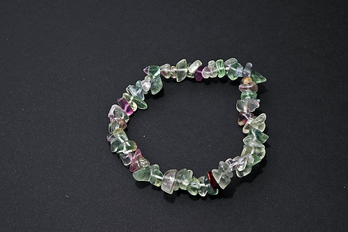 bracelet baroque fluorite fluorine