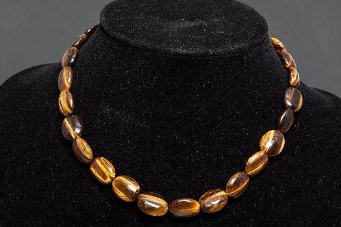 Collier pierre - collier Oeil de tigre