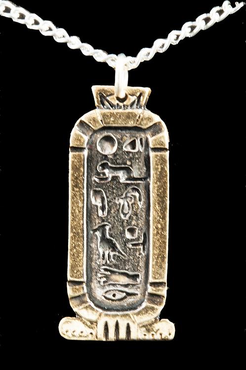 Pendentif Égyptien Cartouche d'amour