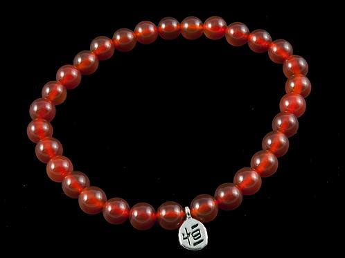 Bracelet pierre - bracelet cornaline