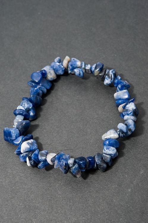 bracelet baroque Sodalite