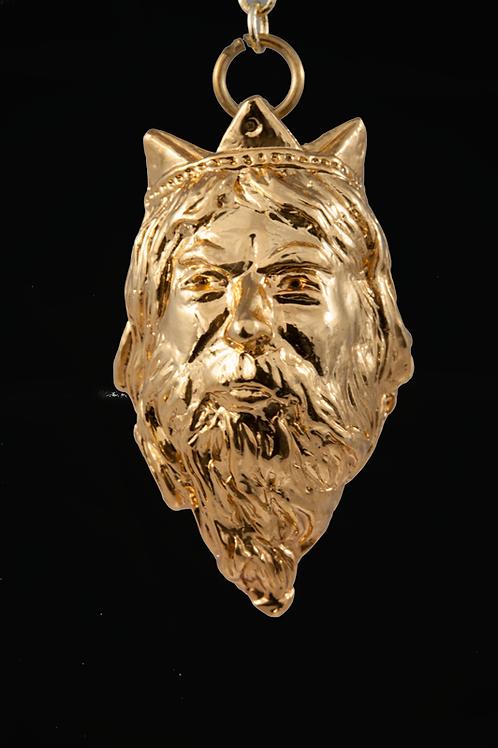 Pendule divinatoire Atlante doré