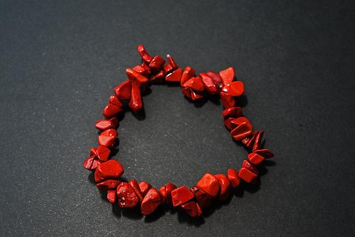 bracelet baroque jaspe