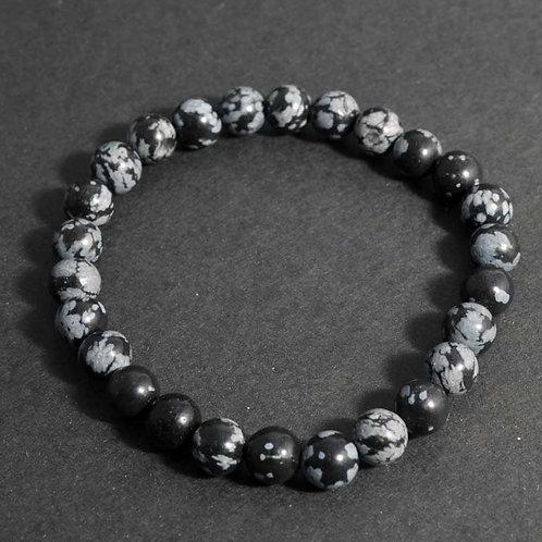 Bracelet Pierre - Bracelet obsidienne