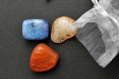 Pochette pierres de la chance