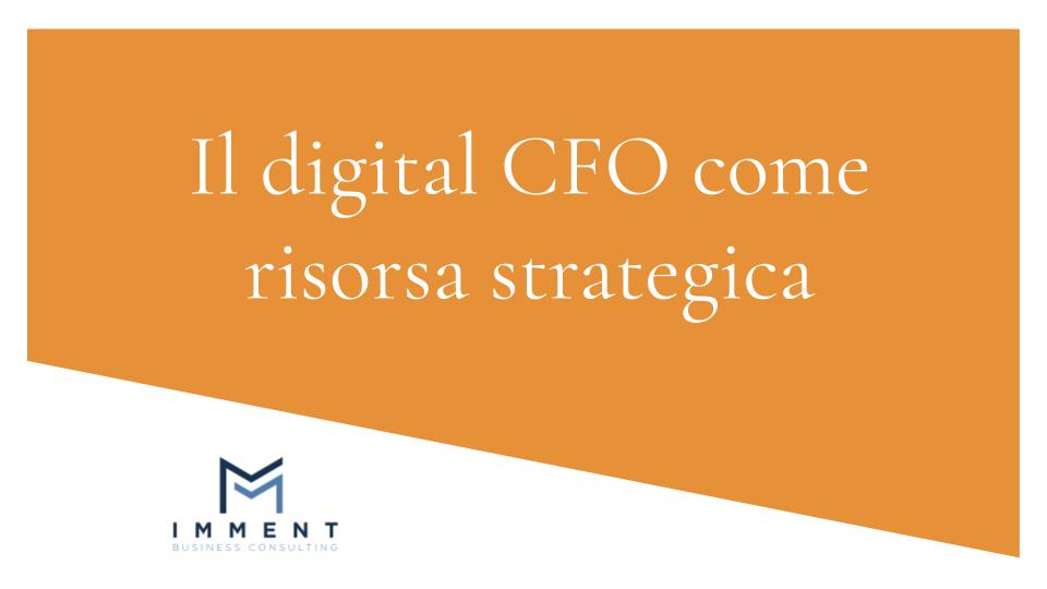 Il digital CFO risorsa strategica, Il digital CFO crescita aziendale, Finanza alternativa