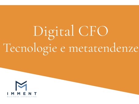 Digital CFO - Tecnologie e metatendenze
