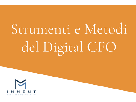 Strumenti e metodi per il Digital CFO