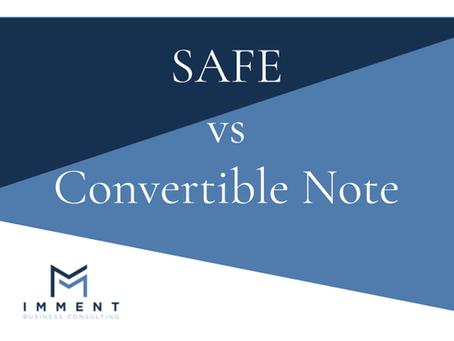 Confronto tra SAFE e Convertible Note