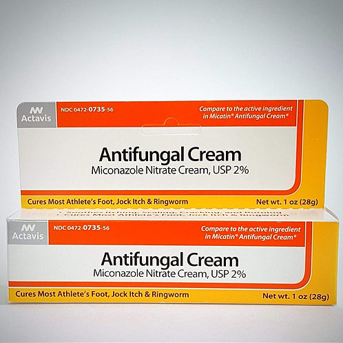 Actavis / Alpharma Miconazole Nitrate 2% Antifungal Cream - 1 oz