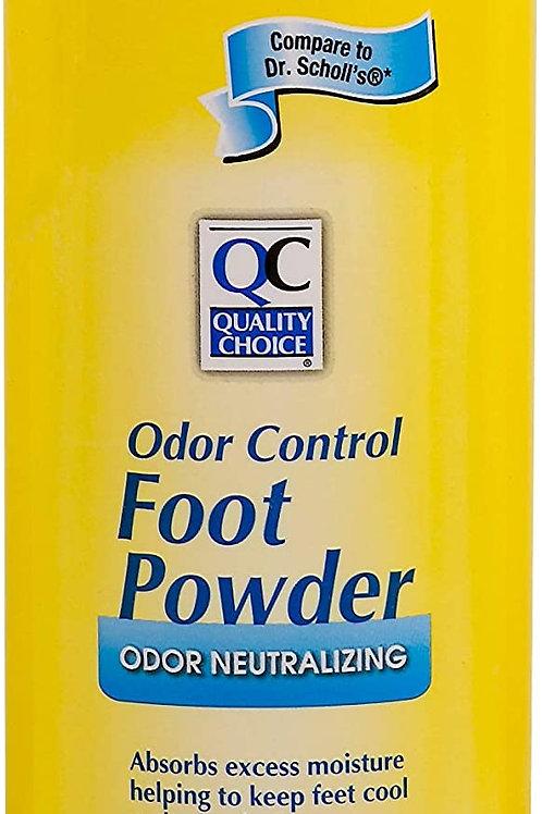 Quality Choice Foot Powder Odor Control 7oz