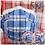 Thumbnail: 30隻「藍白紅」元祖格仔紋口罩