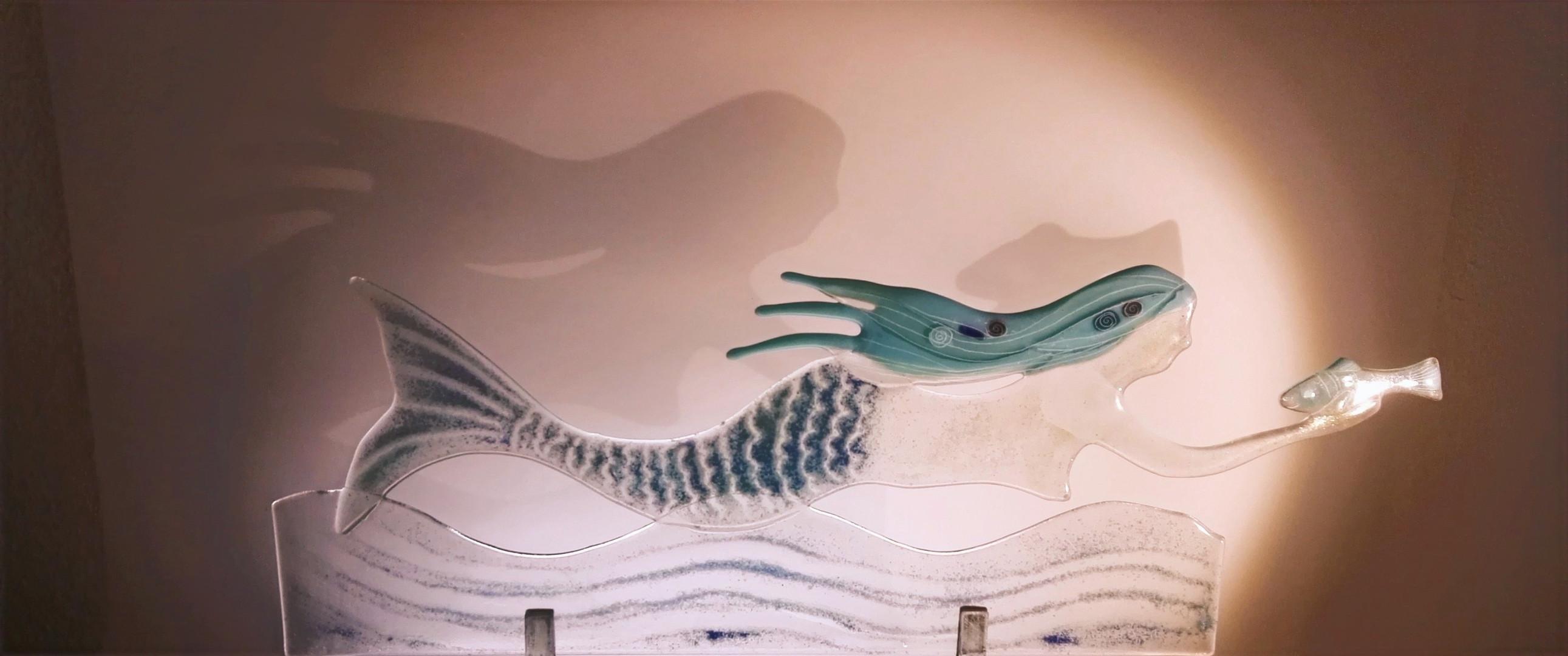 Meerfrau und Schatten
