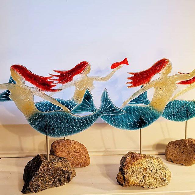 Tanz der Meerfrauen, Recycling Glas