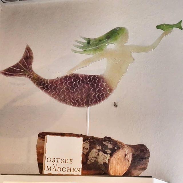 Meerfrau aus Recycling Glas