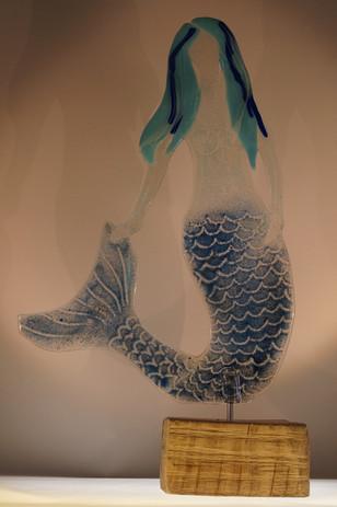 Blaue Meerfrau
