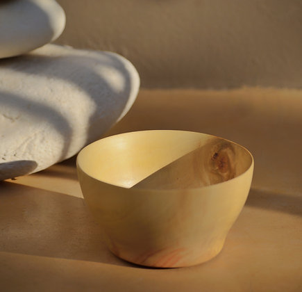 Carob bowl (small)