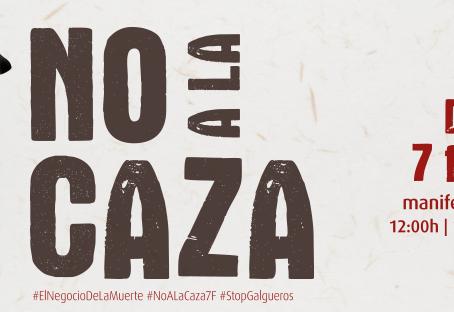 Manifestación No a la Caza 2021
