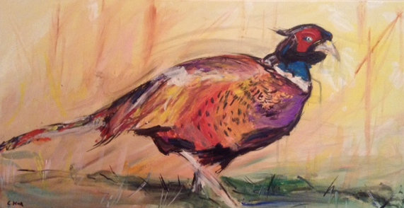 Pheasant (on canvas)