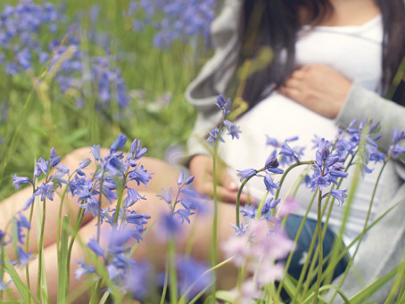 Nature themed Maternity Session