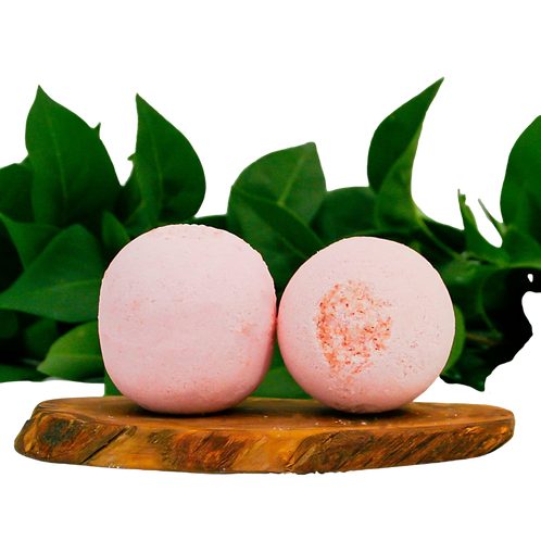 Pink Grapefruit Bath Bomb