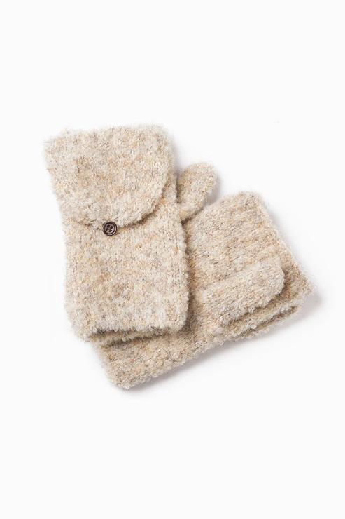Wool Mitten Gloves